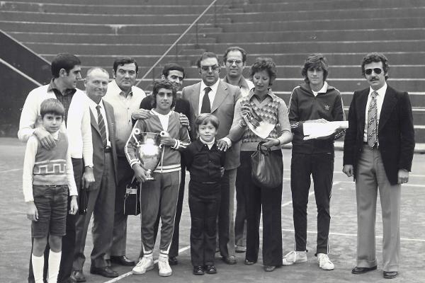 1974: Tennis Club Milano Alberto Bonacossa, Coppa Lambertenghi vinta da Luigi Costa del CT Maglie
