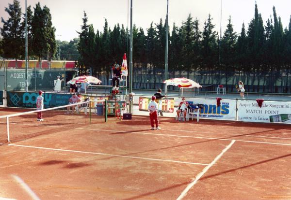 Circolo Tennis Maglie Anni '80 del secolo scorso