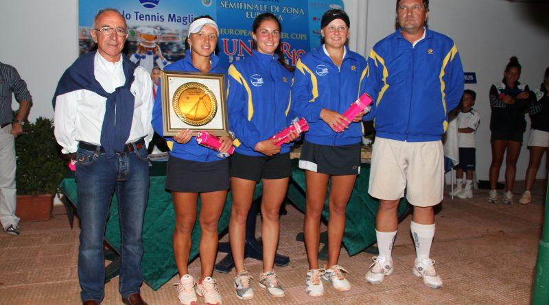 Soisbault Reina Cup 2011 - Circolo Tennis Maglie (Italy) - premiazione Ukraine