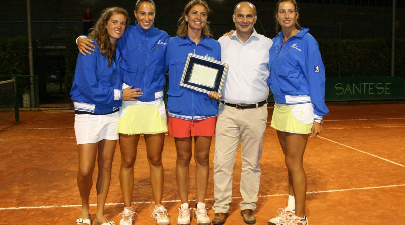Soisbault Reina Cup 2010 - Circolo Tennis Maglie (Italy) - premiazione Italia