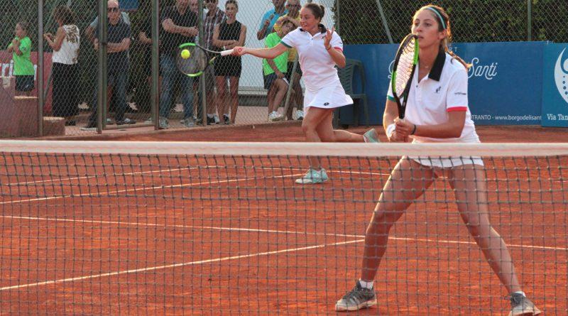 Elisabetta Cocciaretto, Martina Biagianti, doppio Reina Soisbault Cup 2018 Circolo Tennis CT Maglie