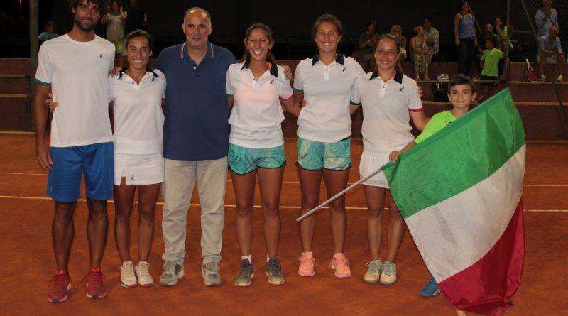 Reina Soisbault Cup Circolo Tennis Maglie Italia Under 18 Giorgia Mortello Elisabetta Cocciaretto Martina Biagianti Federica Rossi