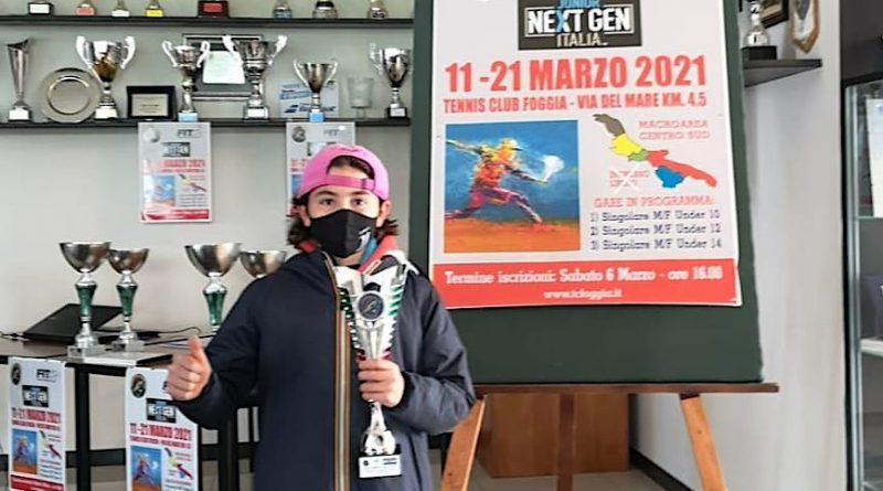 Riccardo Manca Macroarea Foggia 2021