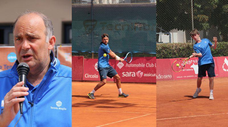 Antonio Baglivo (direttore sportivo CT Maglie), Francesco Garzelli, Silvio Mencaglia
